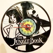 vinyl wall clock the jungle book the jungle book is a 2016