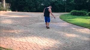 how to seal patio pavers how to dye faded pavers how to stain faded pavers youtube
