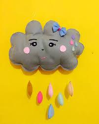 17 ide beserta cara membuat hiasan dinding bantal awan hujan