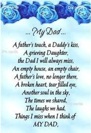 Empty Chair Poem Daddy Poem From Daughter The Best Daughter Of 2017
