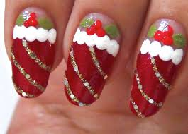 best 25 easy christmas nail designs ideas on pinterest xmas