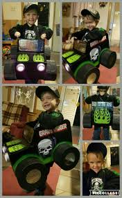 My Son U0027s Monster Truck Halloween Costume He Wanted To Be Grave