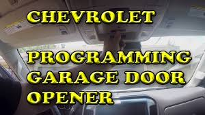 Overhead Door Model 456 Manual chevrolet silverado programming garage door opener youtube