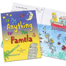 i d do anything for you personalised book find me a gift