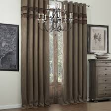 decorating beautiful room darkening curtains with black holder
