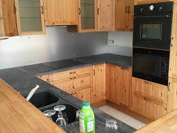 plan travail cuisine bois plan de travail cuisine en bois cuisine meuble noir et plan de
