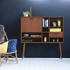 bureau haut bureau haut en teck magda 50 s vente bureau 130 cm tikamoon