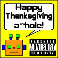 happy thanksgiving a rude robot ringtones