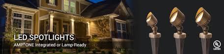 spotlights u0026 flood lights professional led landscape lighting