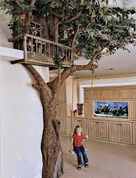 Fake Tree Home Decor by It Would Be A Dream To Do A Kids Play Room With A Tree Like This