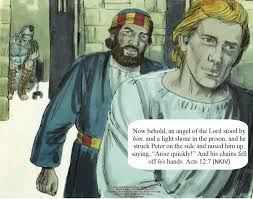 bible fun for kids peter freed from prison