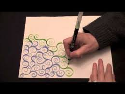 how to make a zendoodle asmr tingly doodle spiral vines high quality sound drawing