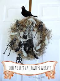 Easy Halloween Wreath by Diy Halloween Door Decorations