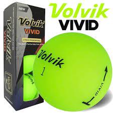 volvik matte finish 3 golf balls green 3 pack