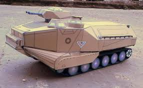 amphibious car assault amphibious vehicle papercraft papercraft paradise