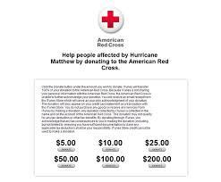 apple opens up itunes donations for hurricane matthew relief