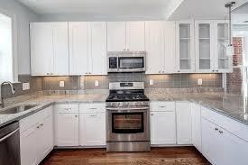 kitchen backsplash pictures with white cabinets pleasant white cabinets stone backsplash lovely kitchen backsplash