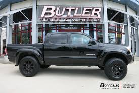 toyota tacoma rims and tires toyota tacoma with 18in black rhino glamis wheels exclusively from