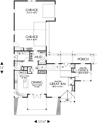 craftsman style house plan 4 beds 3 5 baths 3148 sq ft plan 48