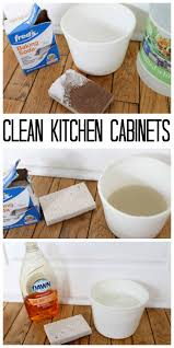 How To Clean Kitchen Cabinets Naturally The Freshman Cook Celebrate It Blog Link Party