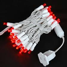 white wire 50 led lights novelty lights inc