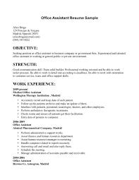 Sample Medical Secretary Resume by Objective Secretary Resume Objective Examples