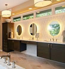 148 best illuminated backlit led round bathroom mirror led vanity