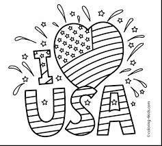 coloring pages by number flag of usa coloring page for kids