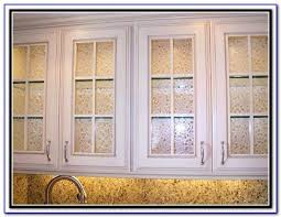 Kitchen Cabinet Door Glass Inserts Replacing Kitchen Cabinet Doors With Glass Inserts Kitchen Set