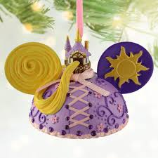 disney parks rapunzel tangled ear hat ornament new princess