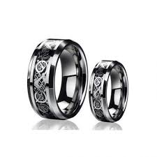 black and pink wedding rings wedding rings black gold wedding ring with pink black