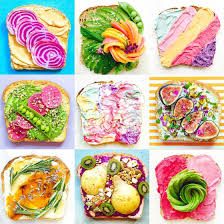toast u2013 creating natural and ultra colorful toasts