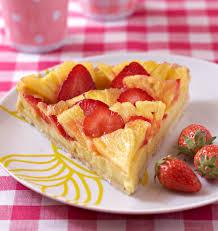 cuisine aux fraises tarte coco fraises ananas les meilleures recettes de cuisine d