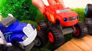 toy monster truck videos for kids trucks for children blaze monster truck race vehicles for kids