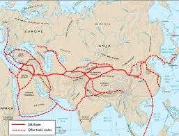 Baghdad Map Baghdad Silk Road Levi