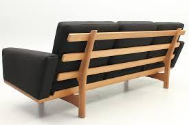 Hans Wegner Sofa by 3 Seat Sofa In Oak By Hans Jørgen Wegner Denmark