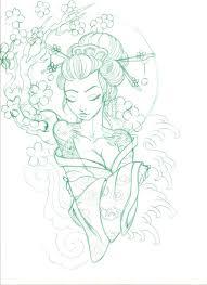 the 25 best geisha drawing ideas on pinterest geisha art