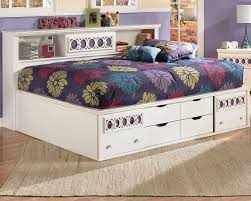 design bedroom with full size bed storage u2014 modern storage twin