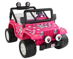 jeep power wheels disney minnie mouse jeep 12 volt battery powered ride