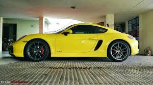 porsche cayman bhp porsche gt cars in india team bhp