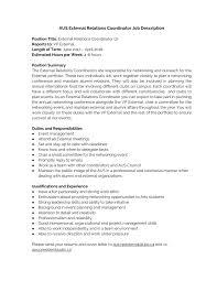 Job Description For Project Coordinator Aus External Relations Coordinator Job Description Docx Docdroid