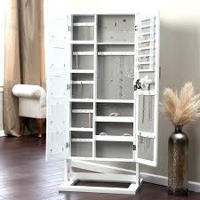 free standing jewellery armoire uk floor standing jewelry boxes floor standing jewelry box with
