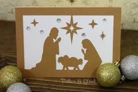 pitterandglink diy nativity card
