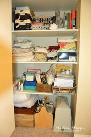how to organize craft supplies tips for creating a craft closet