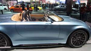 Superleggera Mini Mini Superleggera Vision Roadster Concept Car La Auto Show Youtube
