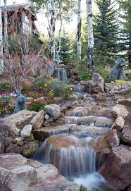 Backyard Waterfall 35 Dreamy Garden With Backyard Waterfall Ideas Garden Ponds