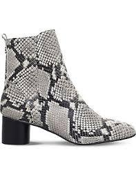 womens boots kurt geiger shoes boots kurt geiger snake print leather