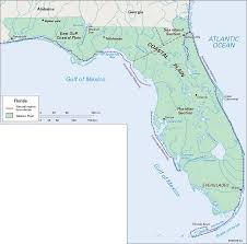 Map Of Florida And Alabama by Florida Natural Regions Students Britannica Kids Homework Help