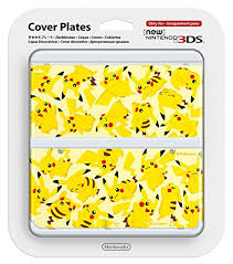new nintendo 3ds amazon black friday new nintendo 3ds cover plates no 057 pikachu only for nintendo new