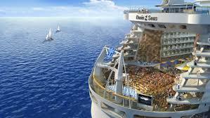 inside the world u0027s biggest cruise ship newsmobile